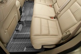 Husky Liners® - Classic Style™ 2nd Row Gray Floor Liners