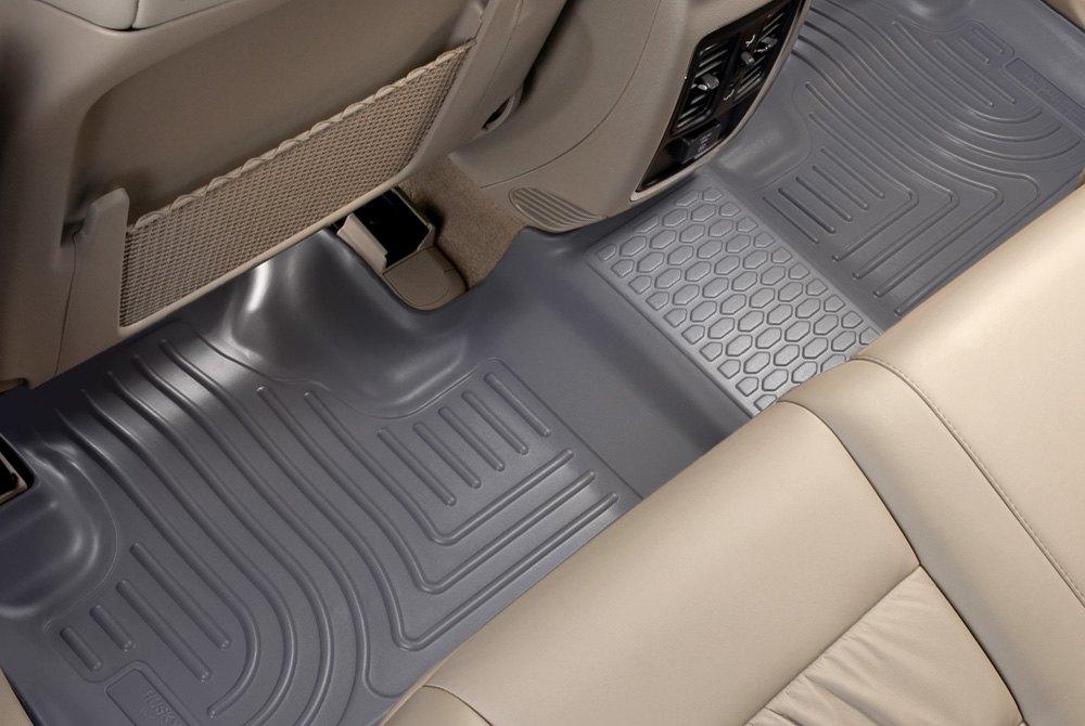 Husky Mustang Weatherbeater Front Rear Floor Liners