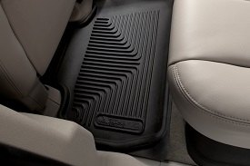 Husky Liners® - X-Act Contour™ 2nd Row Floor Liners