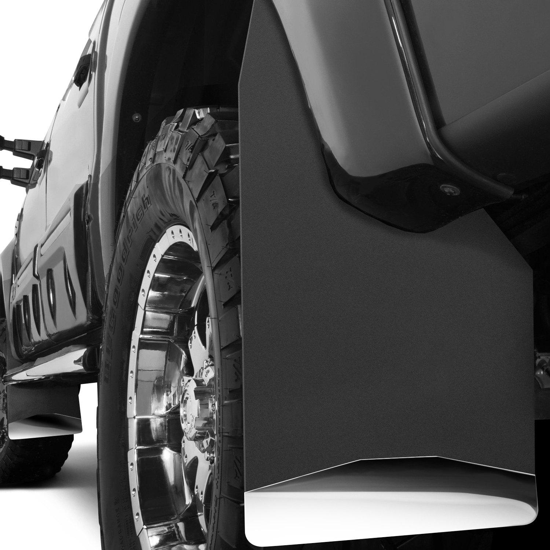 Husky Universal Mud Flaps Oncar on 1995 Jeep Cherokee Cut Top