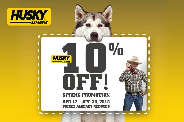 Husky deals
