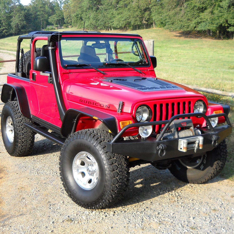 Jeep Wrangler 1998 Hood Louver Panel