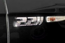 IcedOutEmz® - 3D Chrome Emblem 2211 black