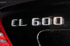 IcedOutEmz® - 3D Chrome Emblem CL 600