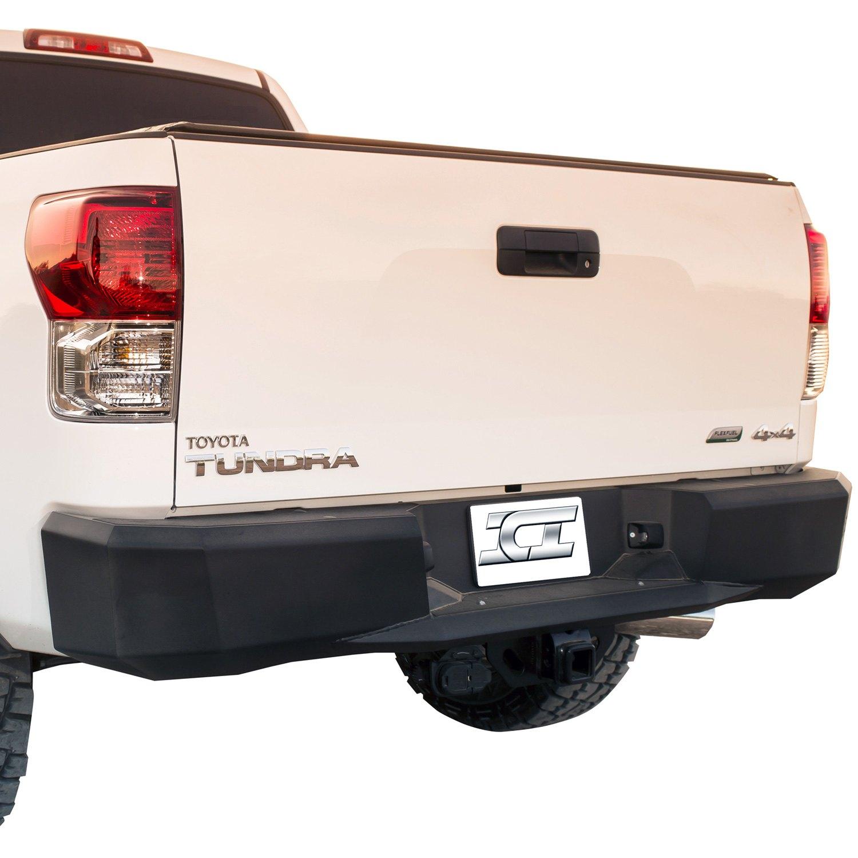 ici toyota tundra 2007 2013 magnum full width black rear hd bumper. Black Bedroom Furniture Sets. Home Design Ideas