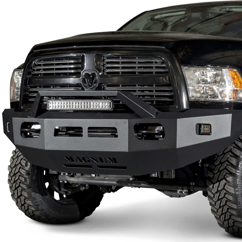 2016 Dodge Magnum >> ICI® - Dodge Ram 2010-2012 Magnum™ Full Width Black Front HD Bumper