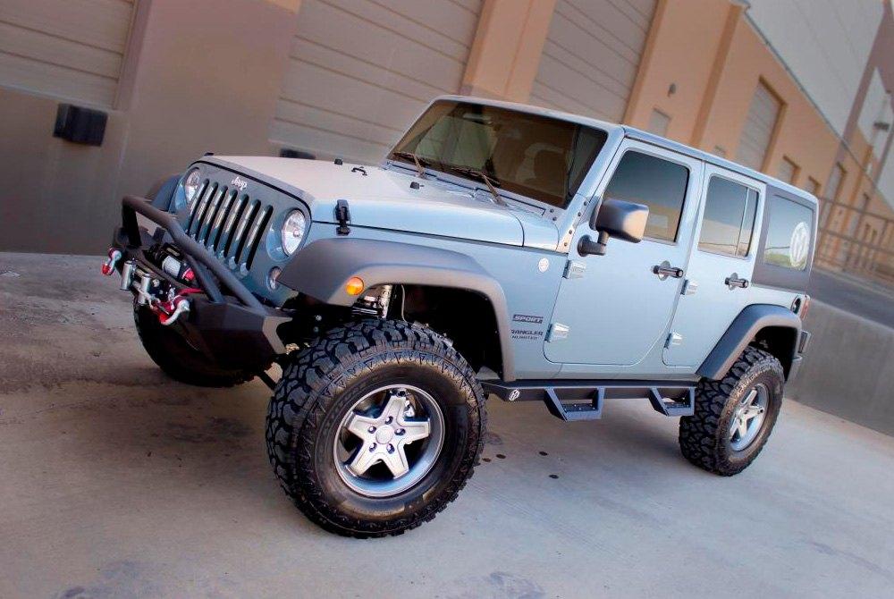 Magnum Rt Steps >> ICI® - Jeep Wrangler 2013 Magnum™ RT Series Wheel-to-Wheel ...