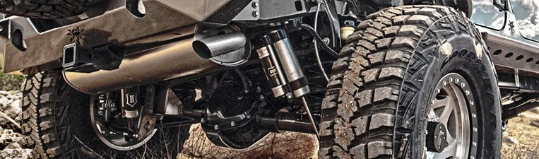Icon Vehicle Dynamics Off-Road Accessories