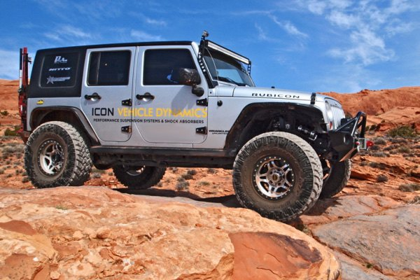 Icon 174 Jeep Wrangler Jk 2018 0 Quot 3 Quot Adjustable Coilover