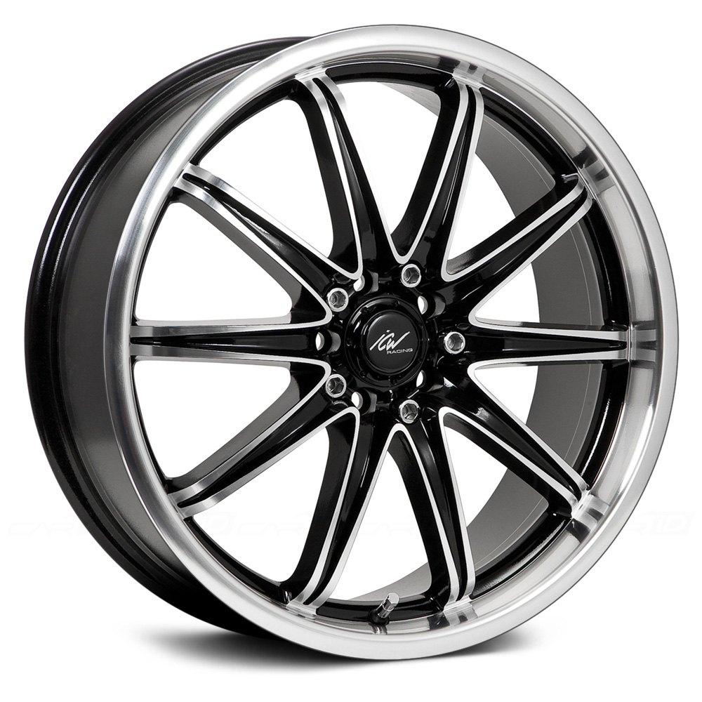 Icw Racing 174 Tsunami Wheels Gloss Black With Machined