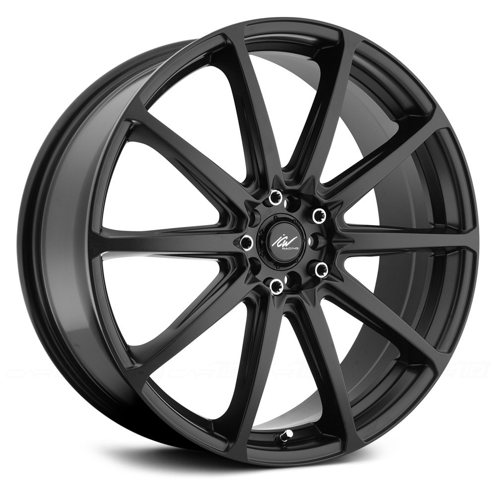 ICW RACING® BANSHEE Wheels - Satin Black Rims