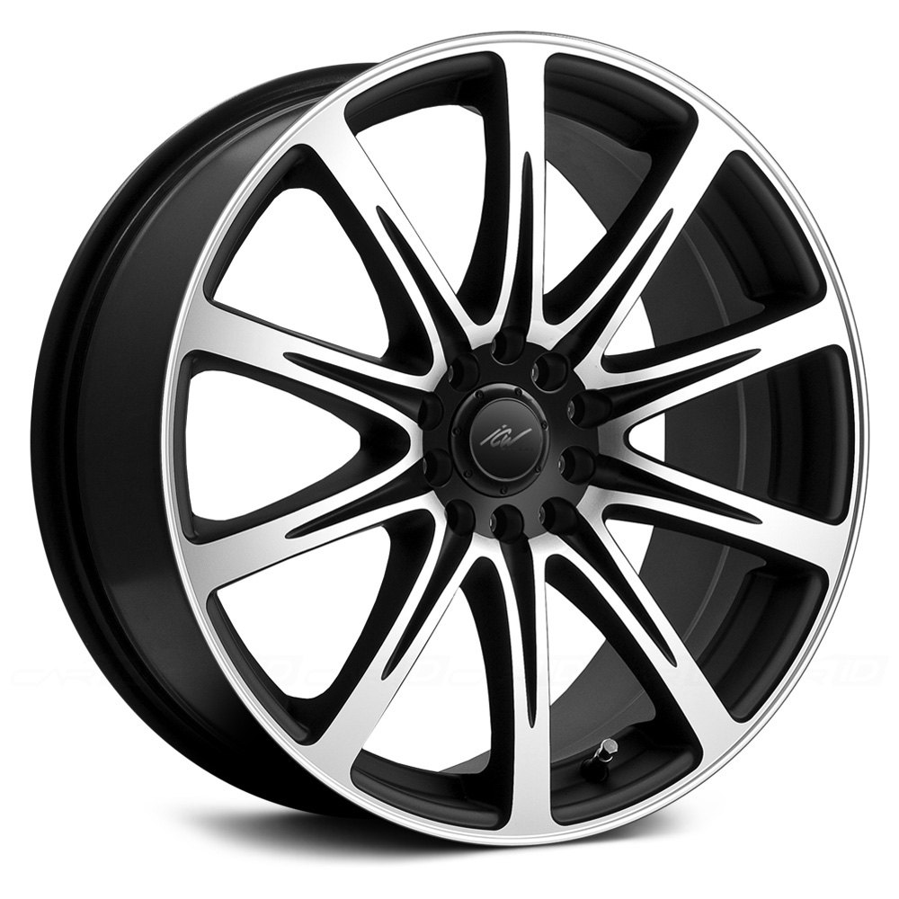 Bmw Repair Shops >> ICW RACING® EURO Wheels - Black with Machined Face Rims