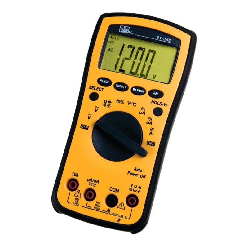 ideal electrical 61 340 test pro digital multimeter. Black Bedroom Furniture Sets. Home Design Ideas