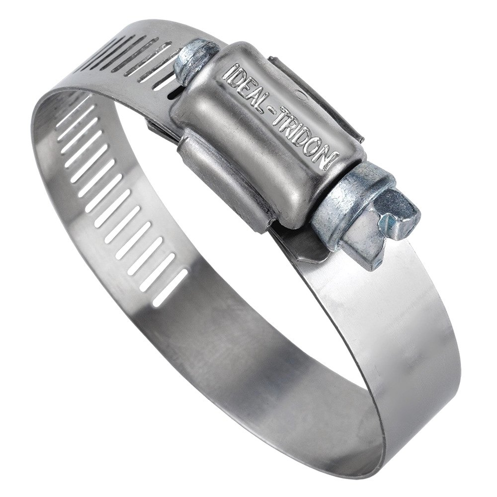 """Ideal-Tridon® 5728051 - Hy-Gear Hose Clamp (1/2"""" L (1-1/4""""- 2-1/4"""") for Hose Ring Clamp  166kxo"""