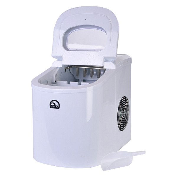 Haier Countertop Ice Maker Reviews : Igloo? ICE102C-WHITE-RC - Portable White Countertop Ice Maker