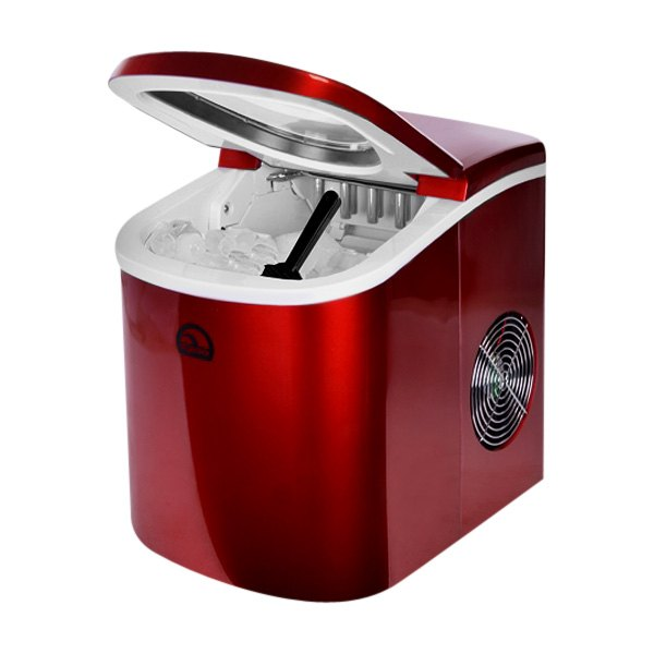 Igloo? ICE102RB-FB-RC - Portable Red Countertop Ice Maker