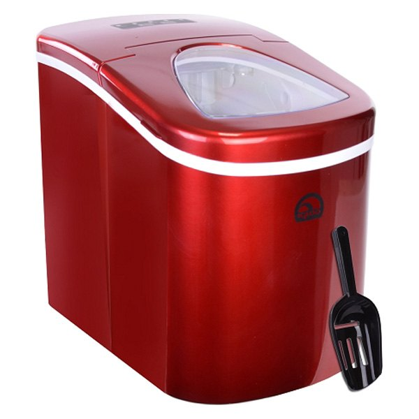 Reviews On Igloo Countertop Ice Maker : Igloo? ICE108RNB-RC - Portable Red Countertop Ice Maker