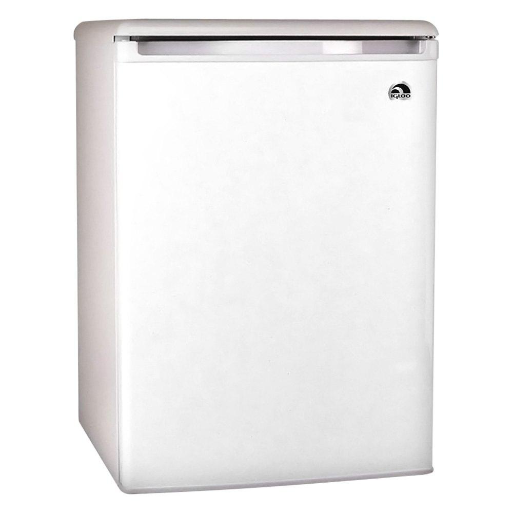 Igloo® FR320W - White Refrigerator and Freezer, Wire Shelves