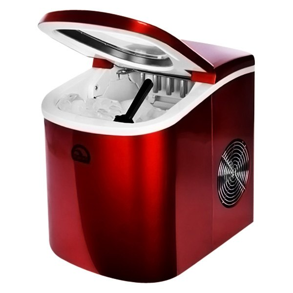 Igloo Ice102st Countertop Ice Maker : Igloo? - 2nd Style Red Counter Top Ice Maker, Factory Brown Box
