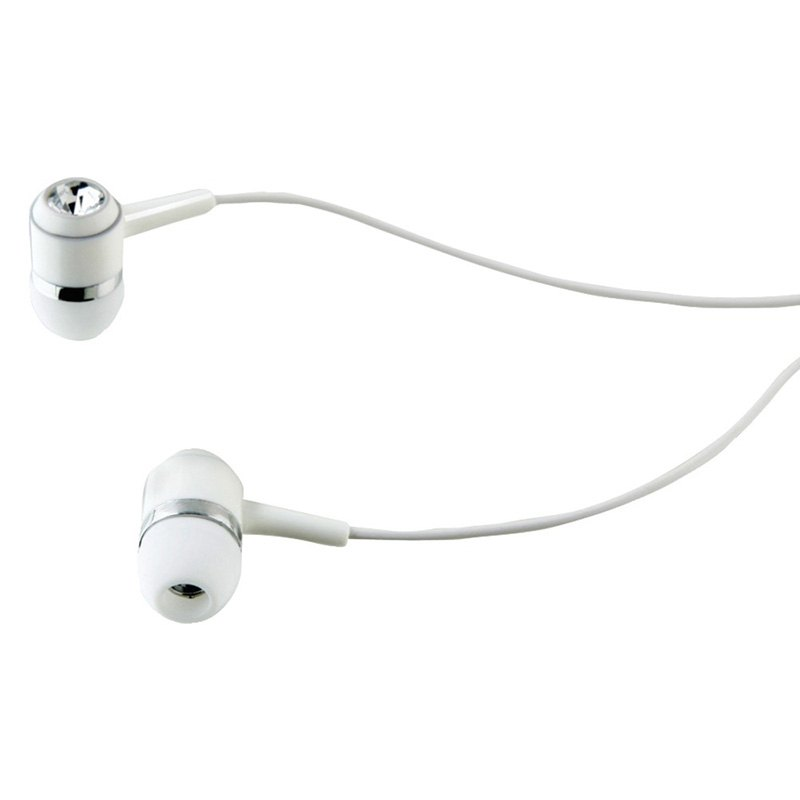 ilive iae34w stereo earbuds white. Black Bedroom Furniture Sets. Home Design Ideas
