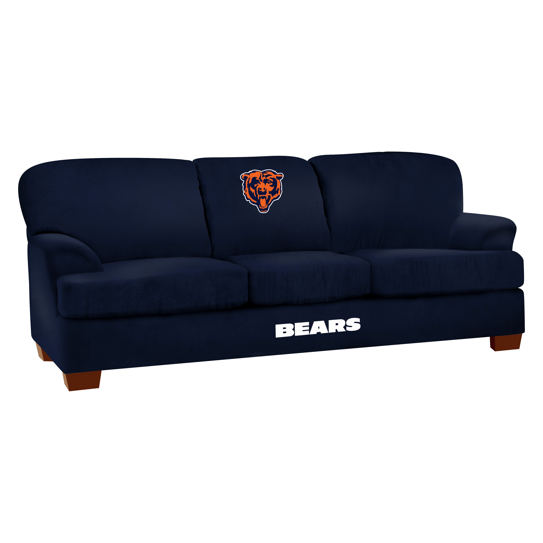 Imperial International Nfl Chicago Bears First Team Microfiber Sofa