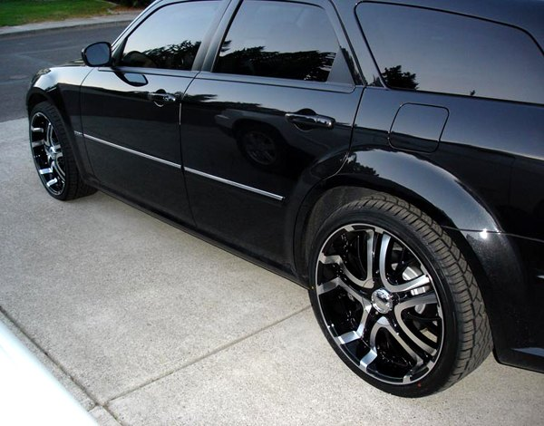 Incubus Paranormal Gloss Black Machined Face Dodge Magnum