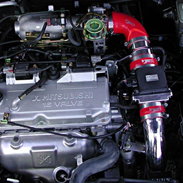 Injen Cold Air Intake System For Mitsubishi Lancer: Mitsubishi Lancer 2.0L 2002-2003 RD Series Cold