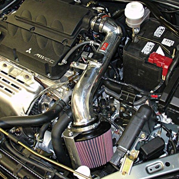 Injen Cold Air Intake System For Mitsubishi Lancer: Mitsubishi Eclipse 2.4L 4 Cyl 2006-2011 SP Series