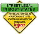 Street Legal in Most States