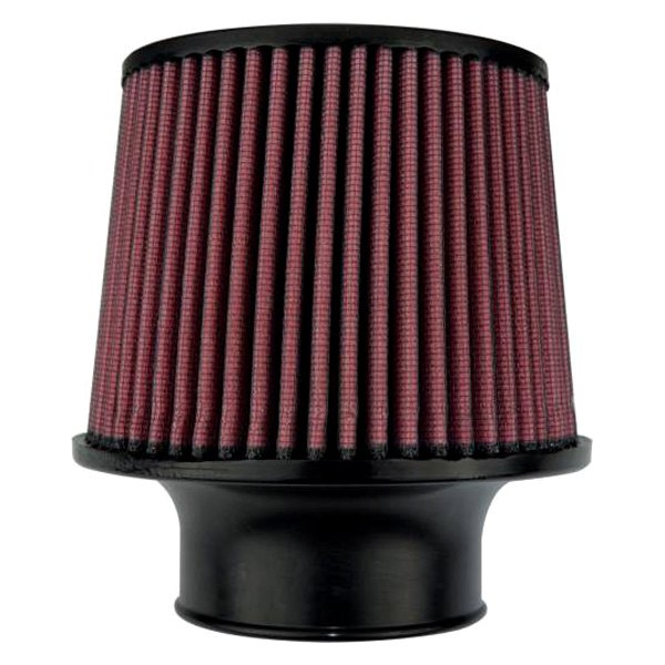 Round Air Filter : Injen br high performance™ round tapered red air