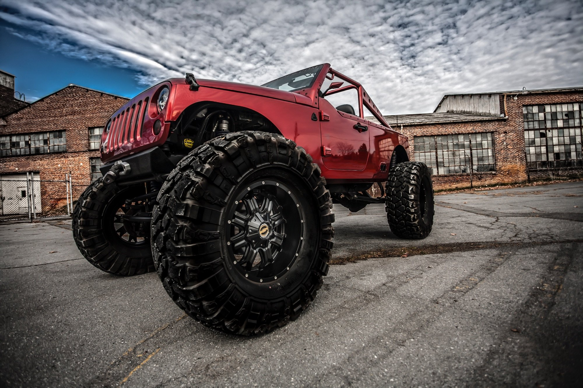 Custom Jeep Wrangler On 40 Offroad Tires Photo By Rob Fortenberry Lftd