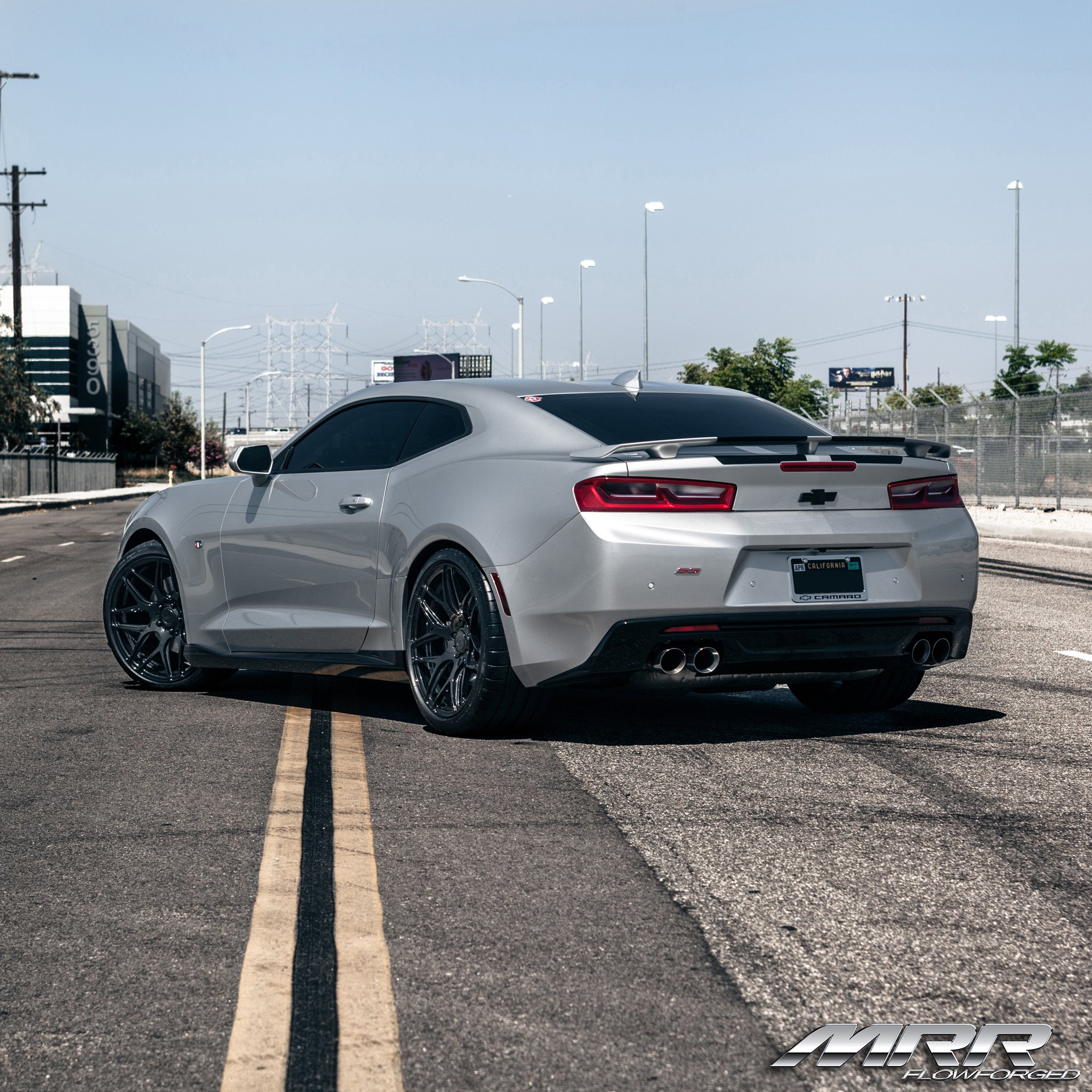 Chevy Camaro Ss Black Chrome Mrr Wheels Photo By