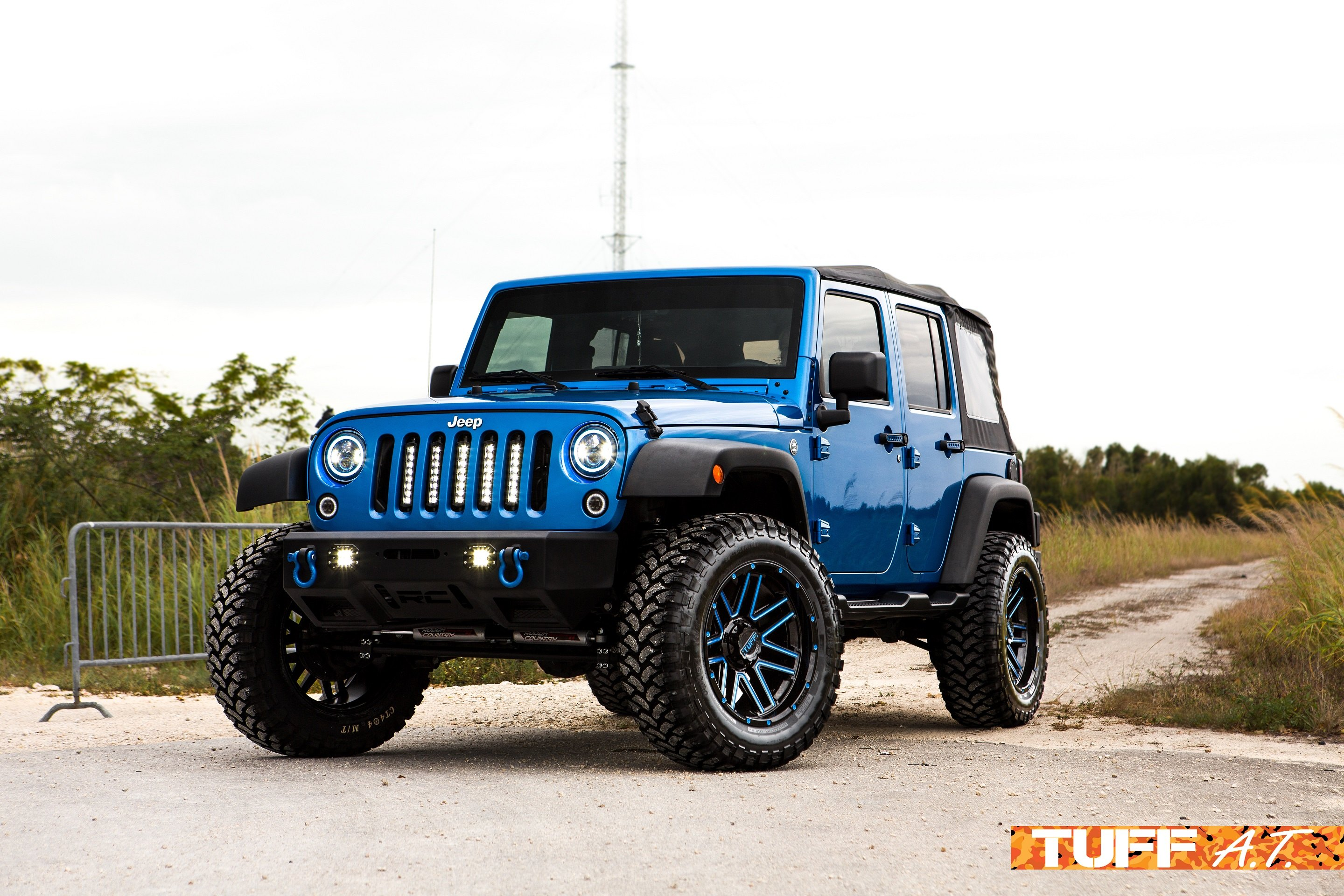 Daily Path Jeep Wrangler on Tuff Wheels — CARiD Gallery