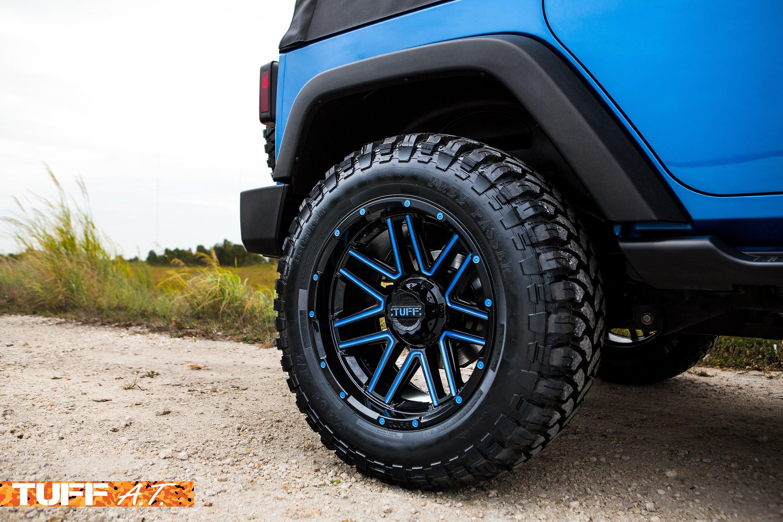 Daily Path Jeep Wrangler on Tuff Wheels — CARiD Gallery
