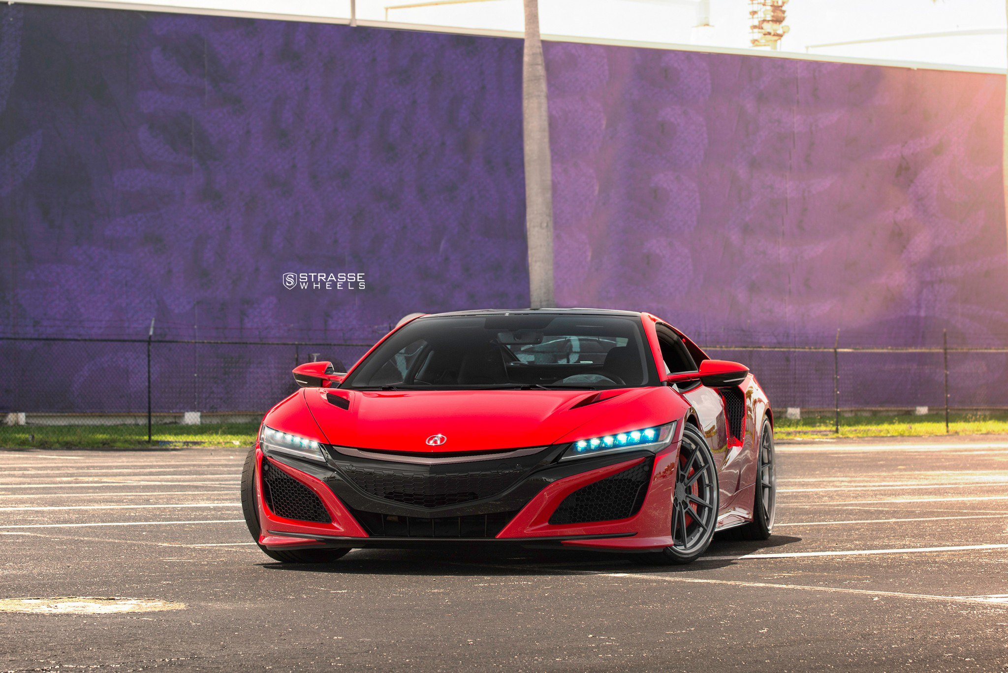 Red Acura NSX With Custom Body Accents Is Gorgeous to Look At ...