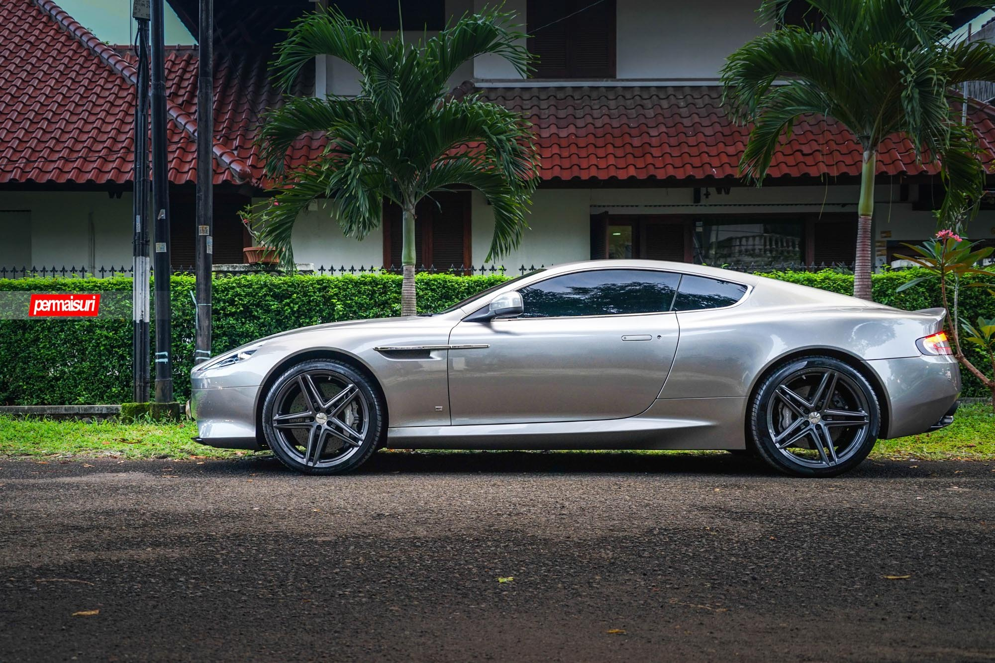 Aston Martin Db9 On Flow Formed Vossen Wheels Photo By