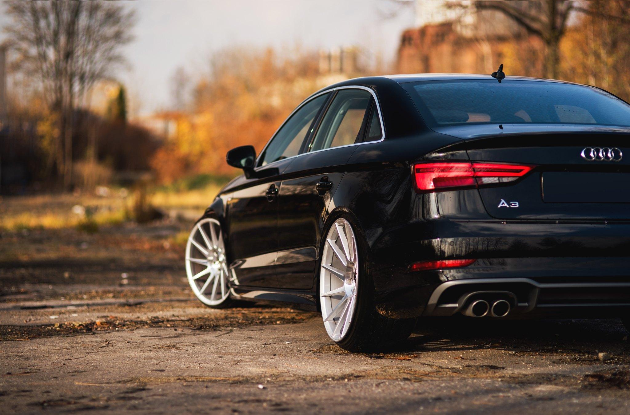 2015 Audi S3 2.0T quattro S tronic | Savage On Wheels  |Audi A3 Sedan Black Rims