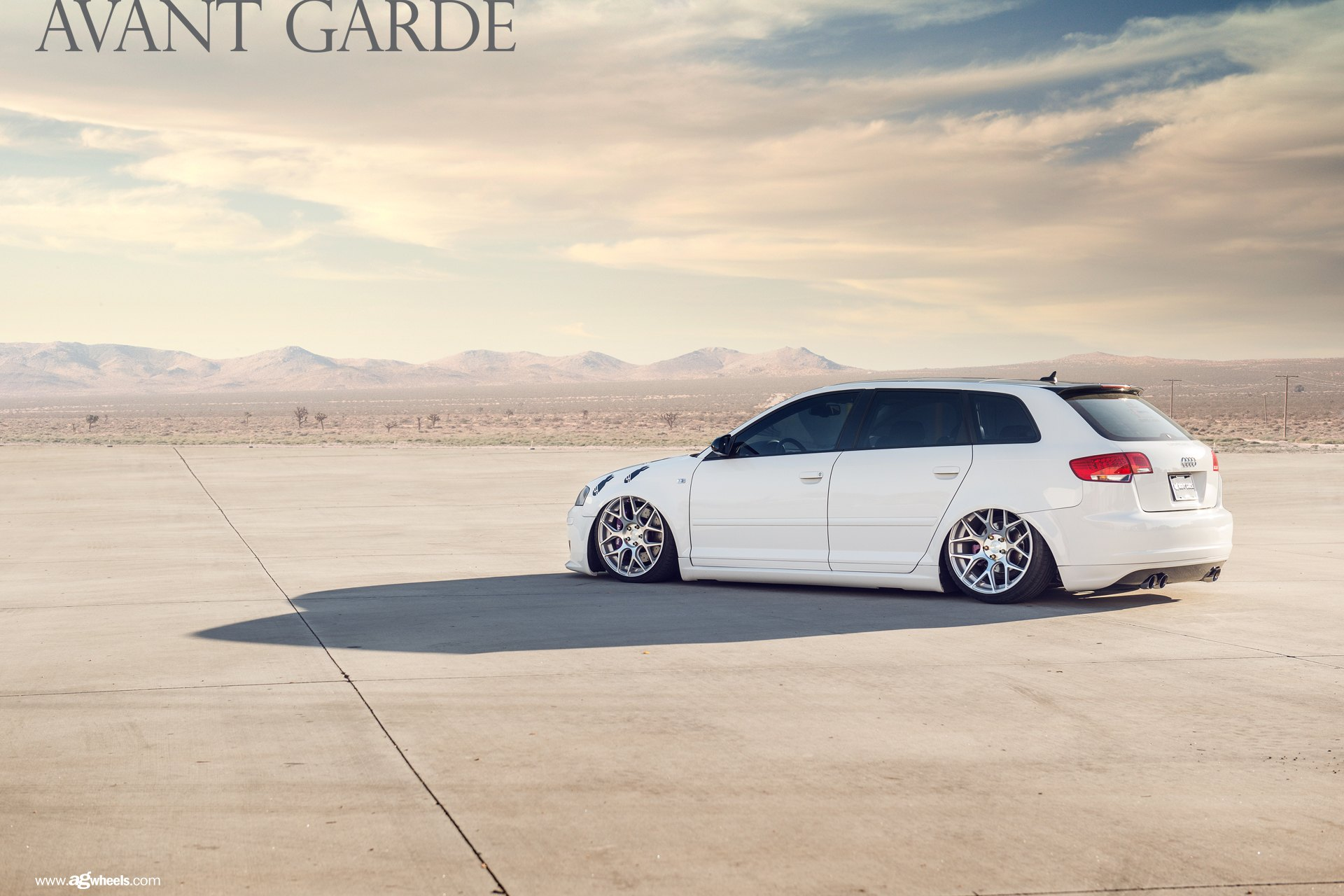 white lowered audi a3 upgraded with exterior goodies. Black Bedroom Furniture Sets. Home Design Ideas