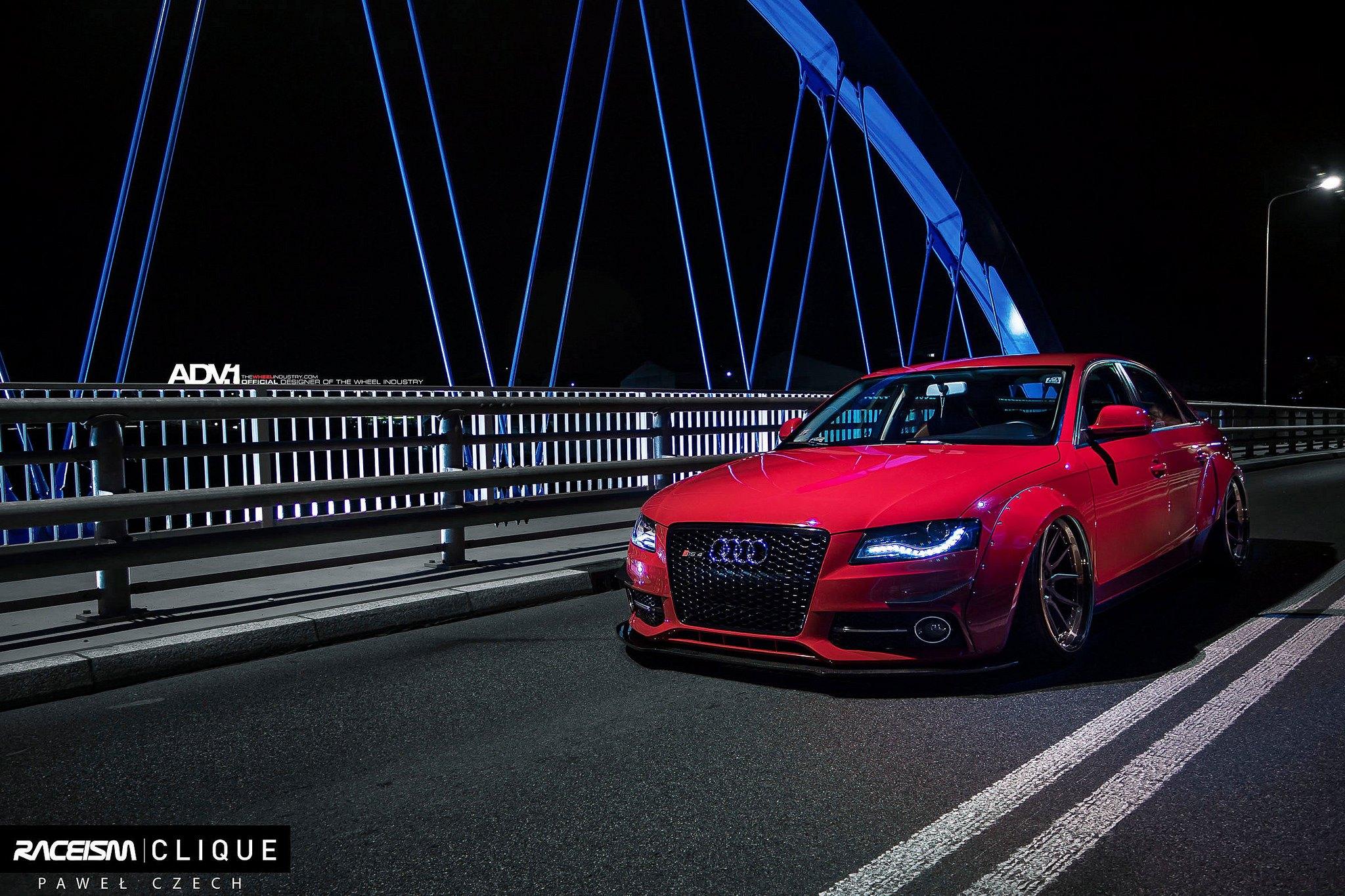 Audi A4 Slammed