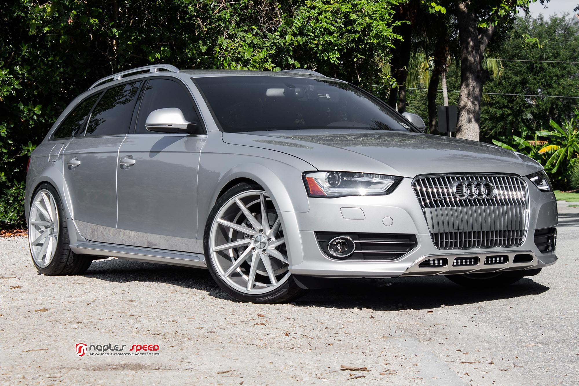 silver audi a4 upgraded with vossen wheels and custom parts gallery. Black Bedroom Furniture Sets. Home Design Ideas