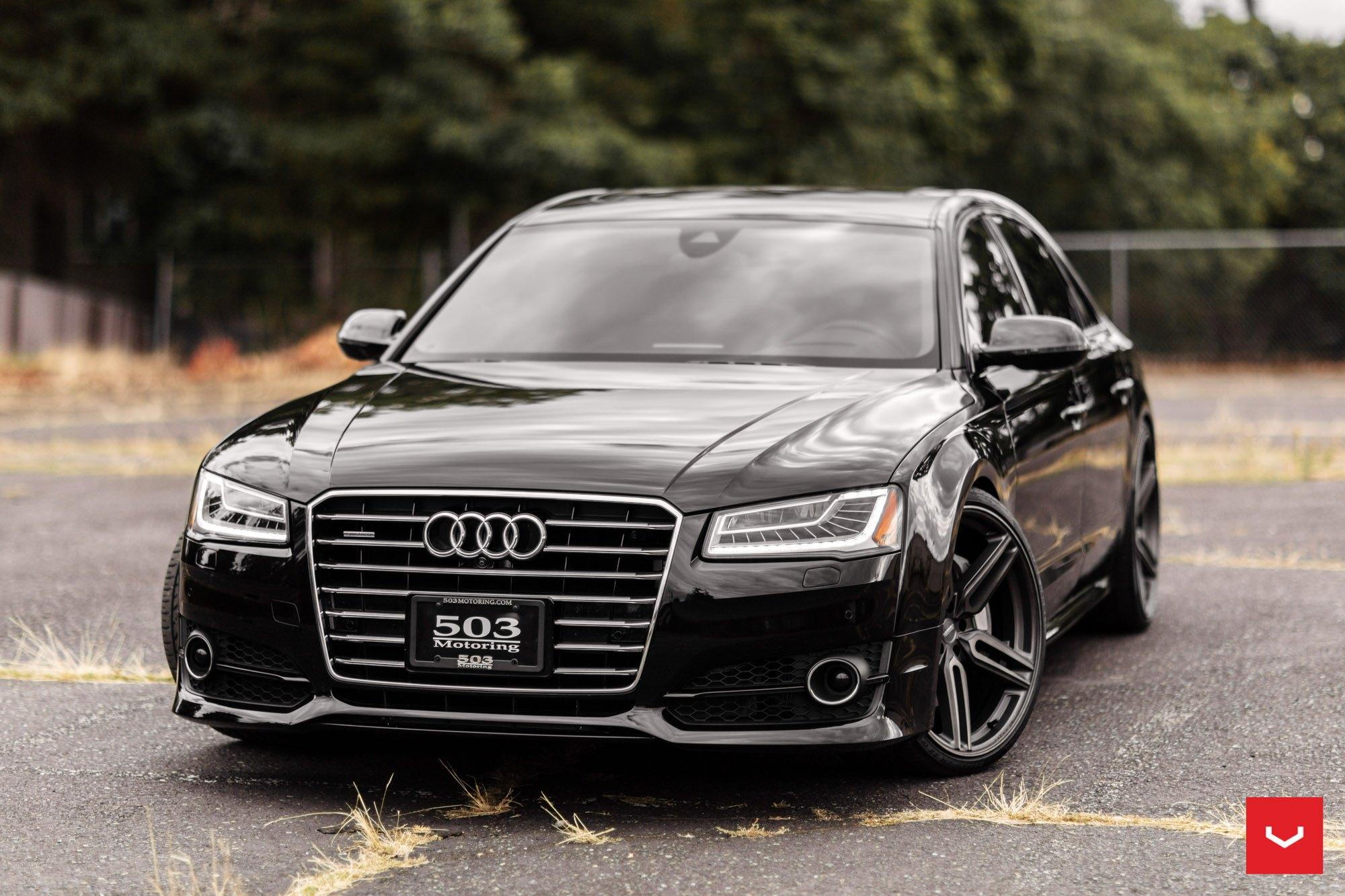 Black Audi A8 Gets More Luxurious Aftermarket Details Carid Com