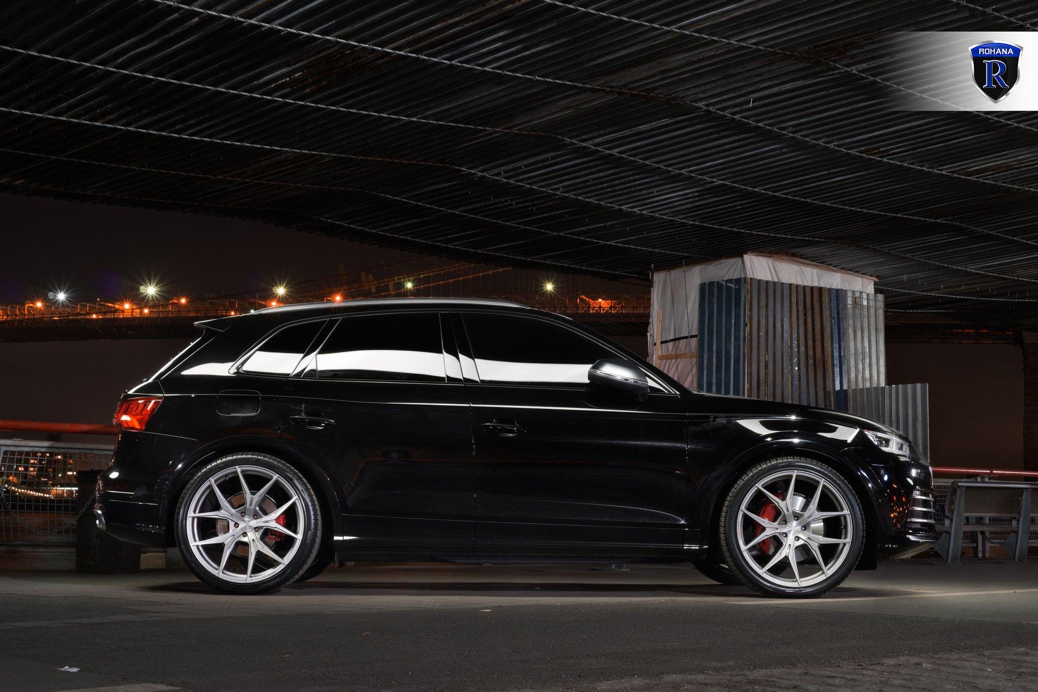 Black Audi Q5 On Chrome Rohana Wheels Carid Com Gallery