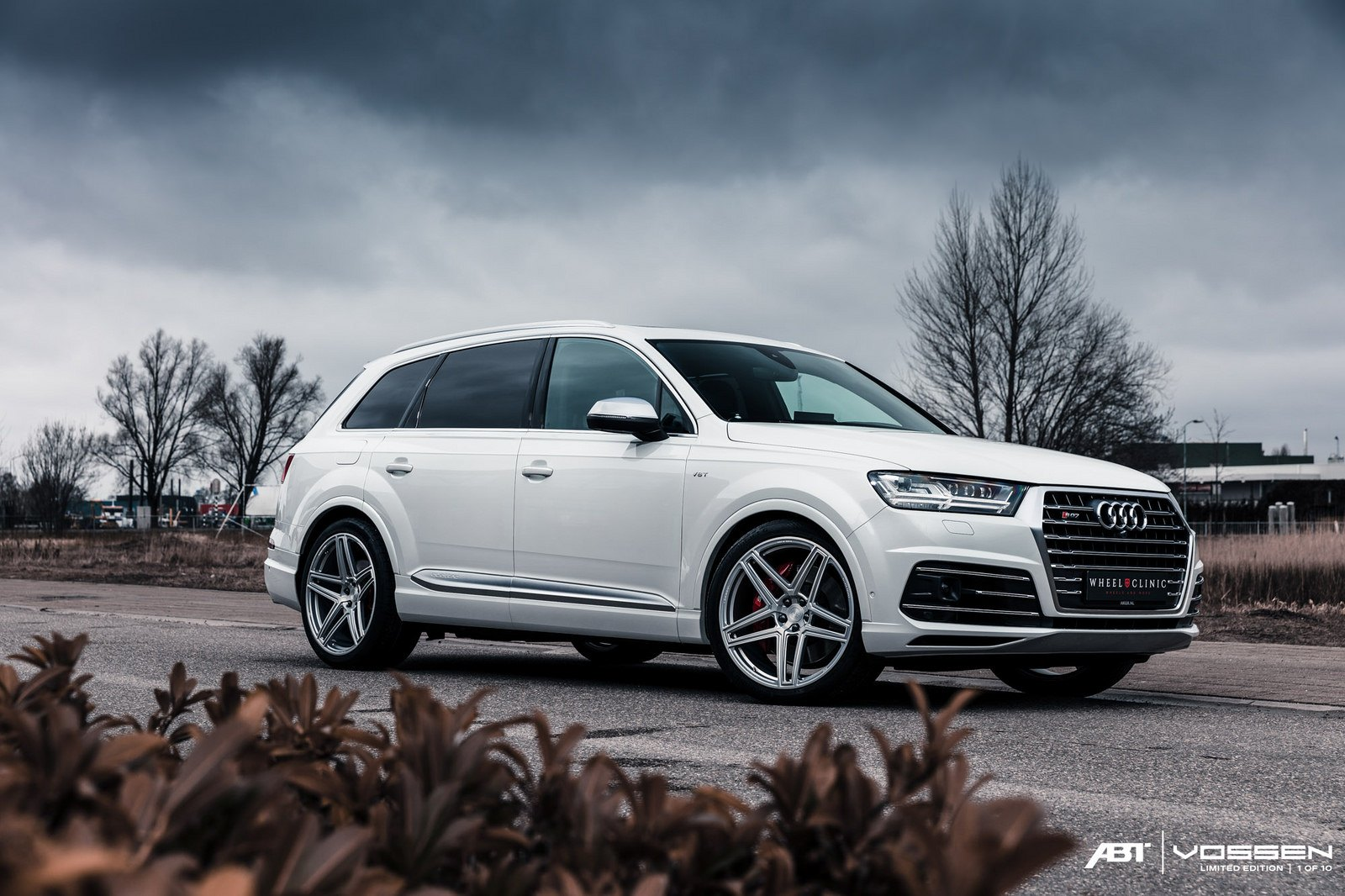 Audi Q7 Goes In Style Wearing Vossen Rims Carid Com Gallery