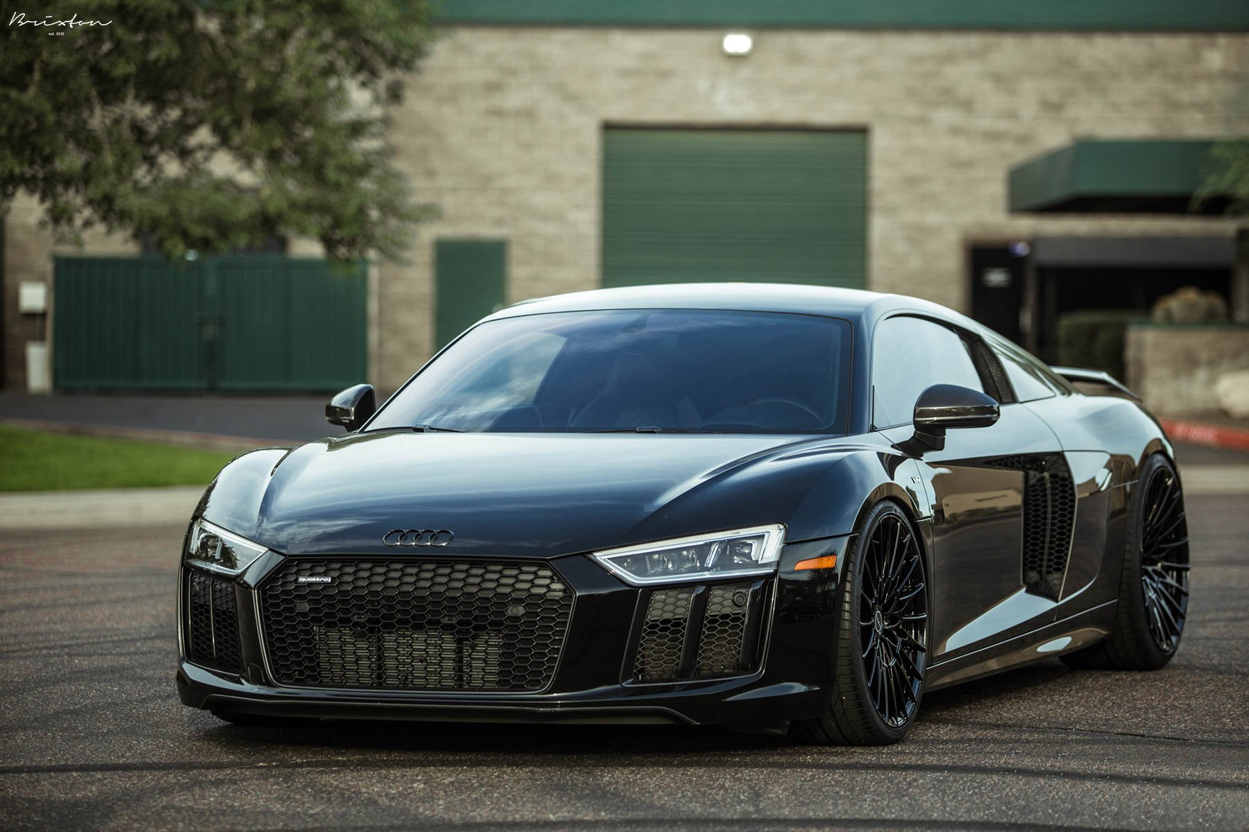 Stealthy Takes Over Black Audi R8 with Custom Parts — CARiD.com Gallery