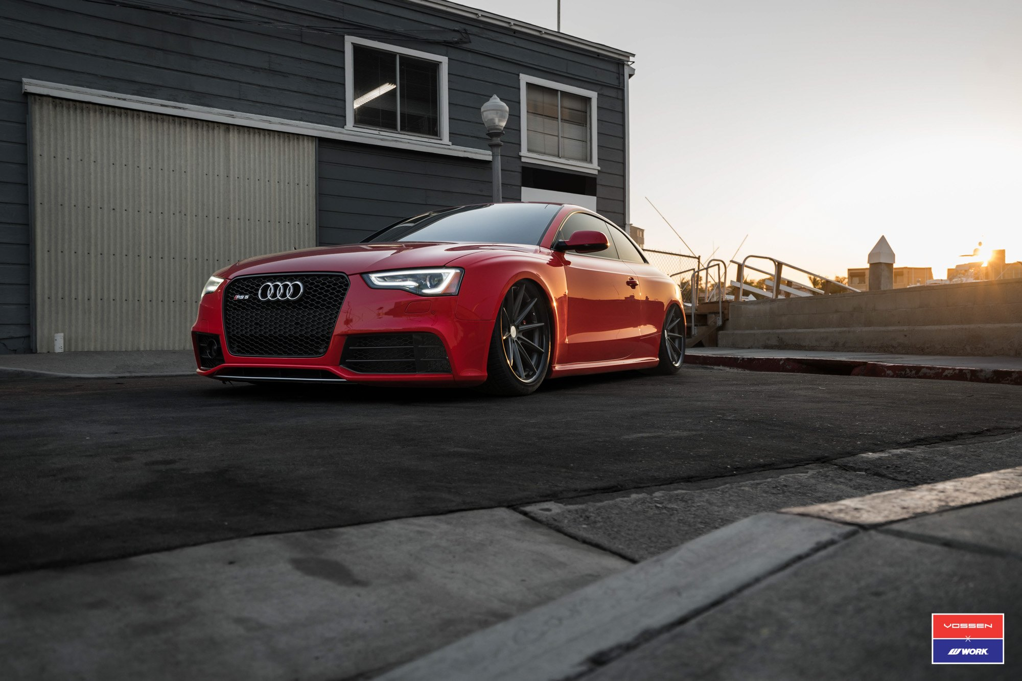 tuning upgrade for red audi s5 gallery. Black Bedroom Furniture Sets. Home Design Ideas