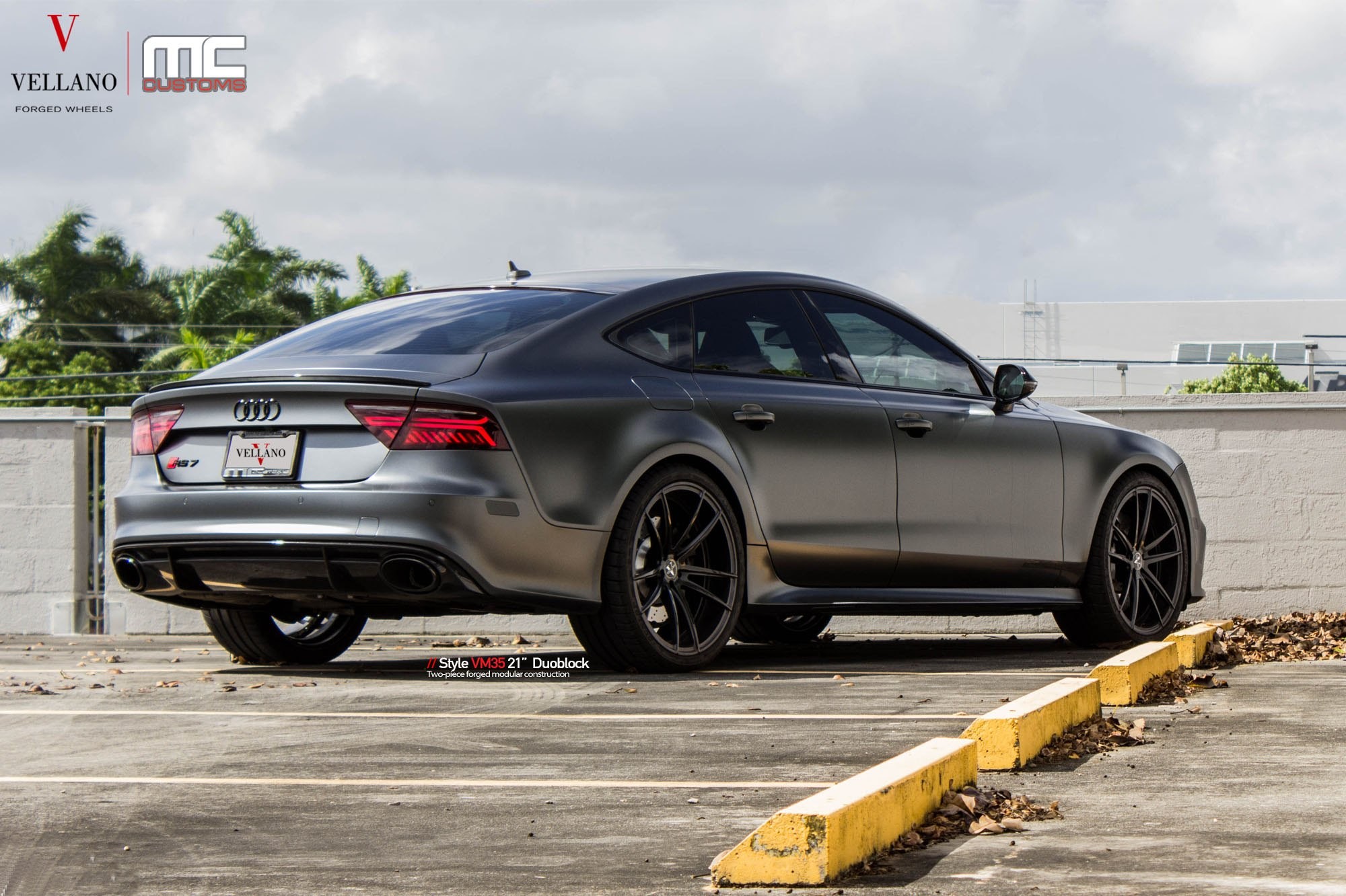 Unmatched Performance Meets the Ultimate Style Customized Gray Audi