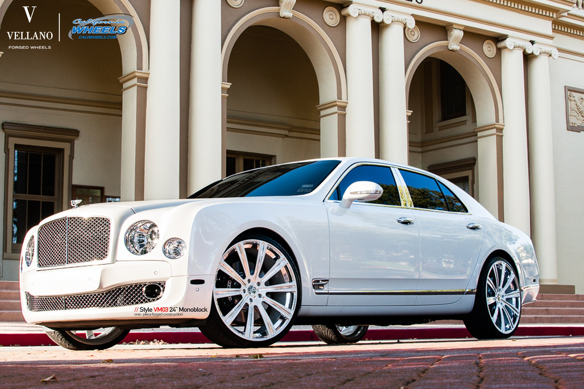 Royal doesnt get better than this bespoke white bently mulsanne aftermarket headlights on white bently mulsanne photo by vellano voltagebd Image collections