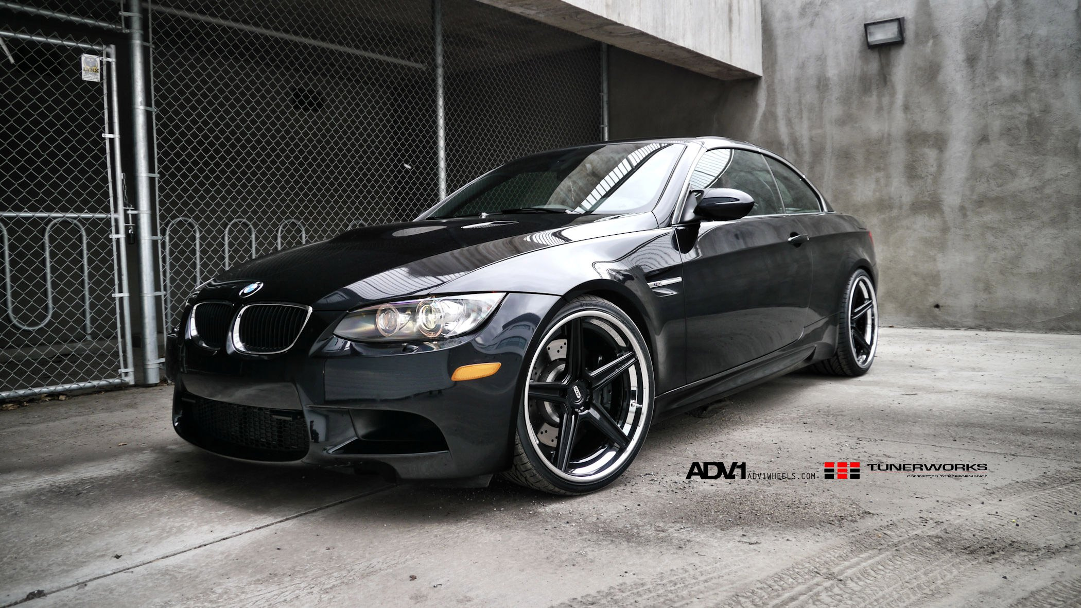 Sharp Looking Black Adv1 Rims With Polished Lips On Bmw M3 Carid Com Gallery