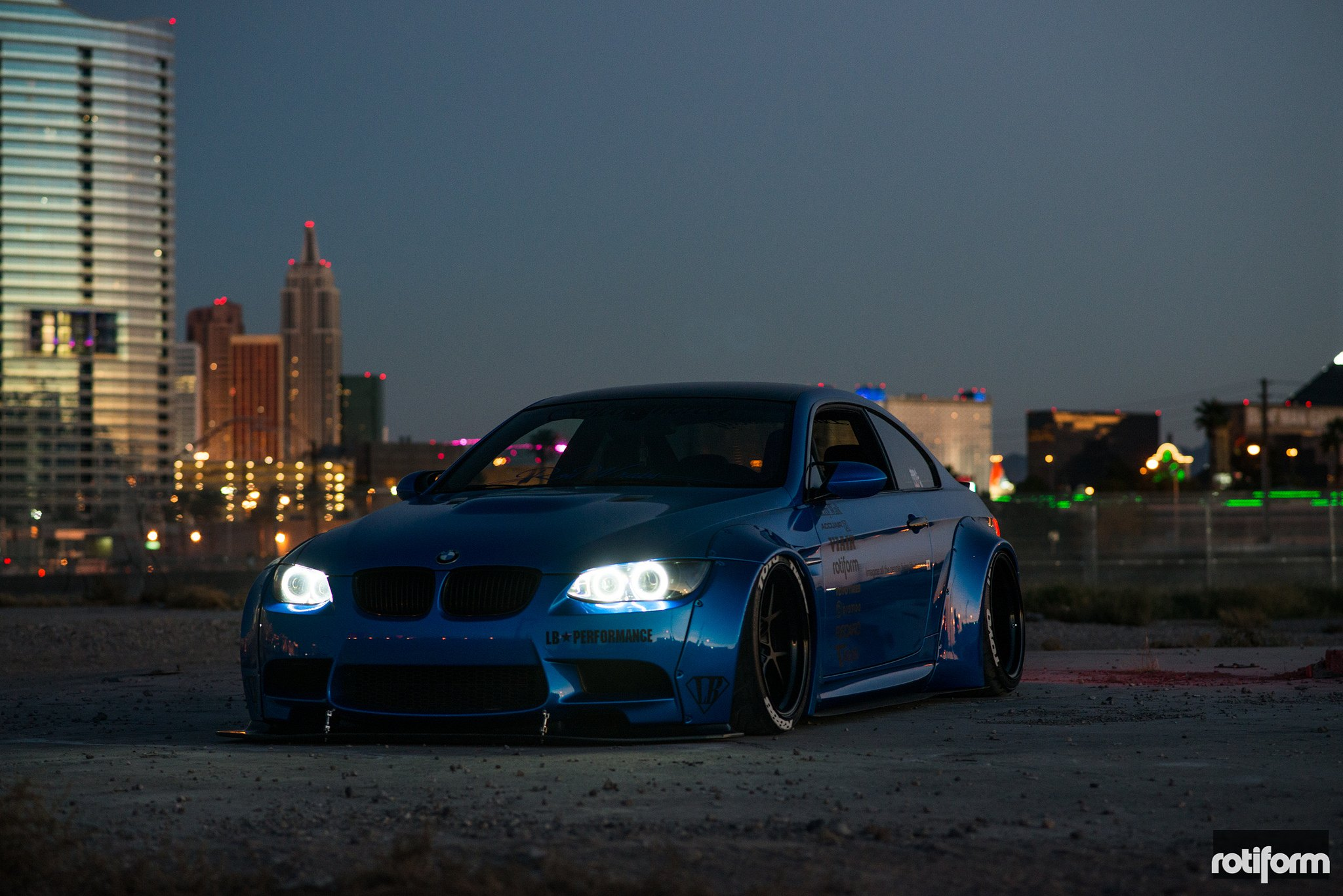 Liberty Walk Bmw M3 E92 With Rotiform Sport Wheels Carid Com Gallery