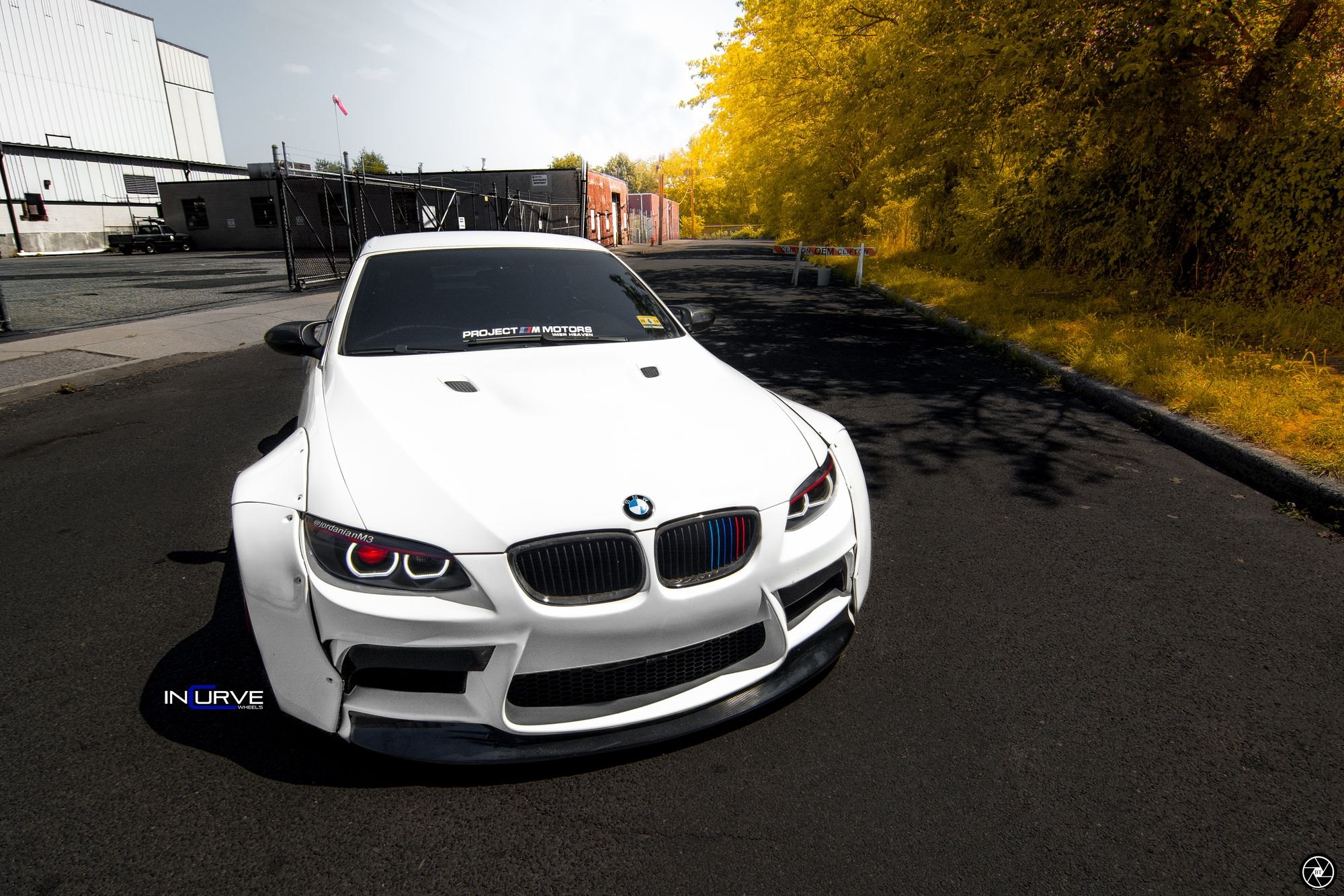 Jdm All The Way Customized White Bmw 3 Series Carid Com Gallery